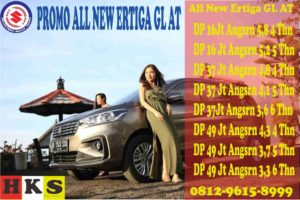 PROMO ALL NEW ERTIGA GL AT