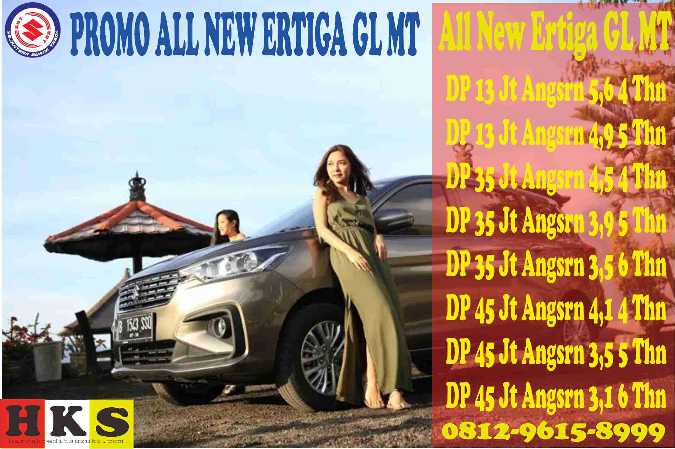 PROMO ALL NEW ERTIGA GL MT