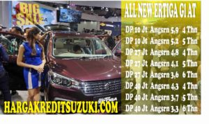 harga kredit all new ertiiga gl at