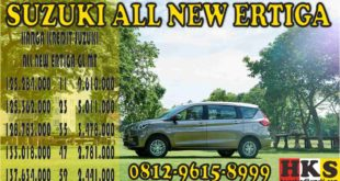 SUZUKI ALL NEW ERTIGA GL MT