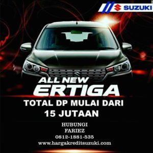 SUZUKI ALL NEW ERTIGA DP 15 JUTAAN