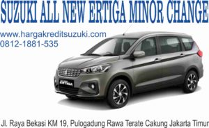 SUZUKI ERTIGA MINOR CHANGE