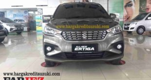 TAMPAK DEPAN SUZUKI ALL NEW ERTIGA MINOR CHANGE