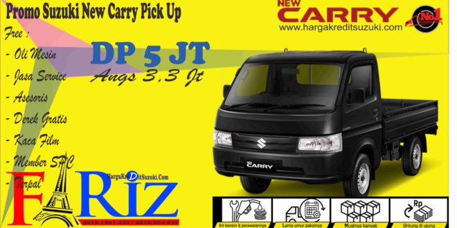 Promo New Carry DP 5 Jt Angs 3,3 Jt