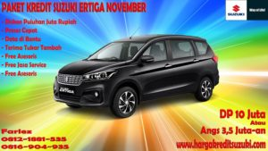 paket kredit suzuki all new ertiga november