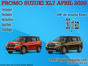 PROMO SUZUKI XL7 APRIL 2020