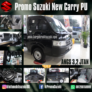 Suzuki New Carry Pick Up dp 5 juta